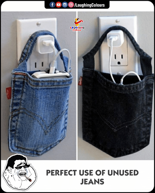 Indianpeoplefacebook, Jeans, and Use: LAUGHING  ( @()〉  PERFECT USE OF UNUSED  JEANS