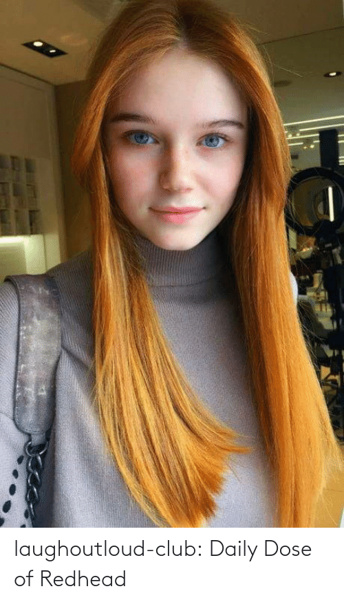 redhead: laughoutloud-club:  Daily Dose of Redhead