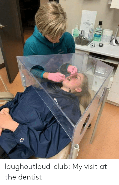 dentist: laughoutloud-club:  My visit at the dentist