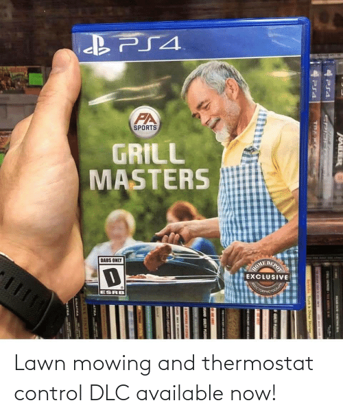 Thermostat: Lawn mowing and thermostat control DLC available now!