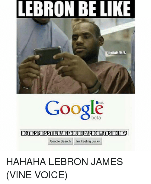 lebron james vine