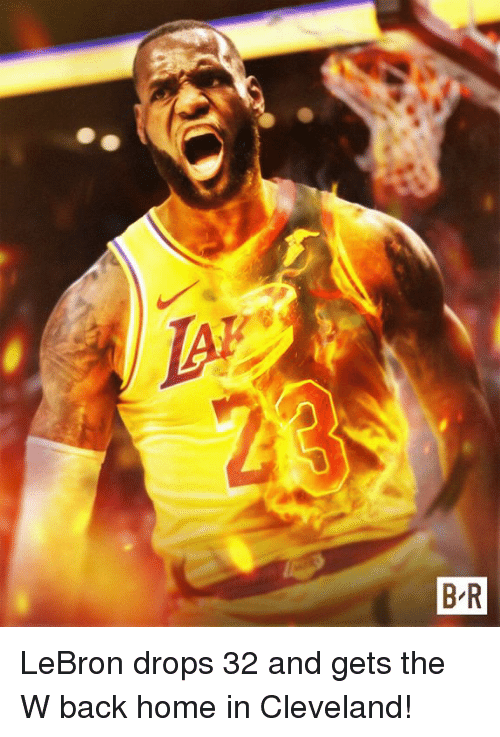 Cleveland, Home, and Lebron: LeBron drops 32 and gets the W back home in Cleveland!