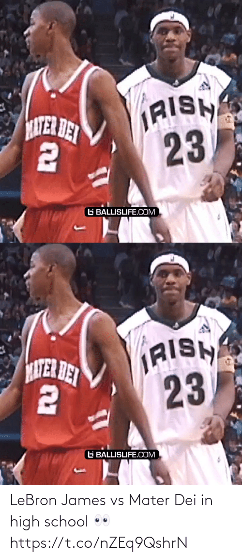 james: LeBron James vs Mater Dei in high school 👀 https://t.co/nZEq9QshrN