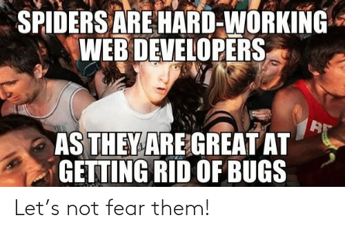Fear: Let's not fear them!
