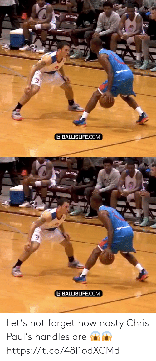 Let: Let's not forget how nasty Chris Paul's handles are 😱😱 https://t.co/48I1odXCMd