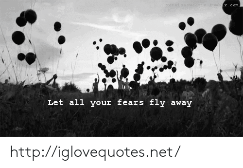 Http, Net, and Fly: Let all your fears fly away http://iglovequotes.net/