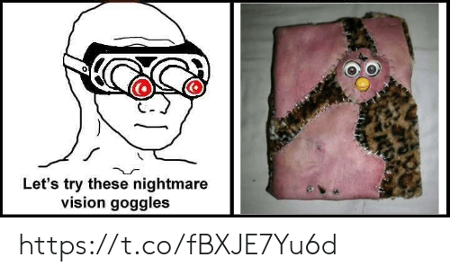 Lets Try: Let's try these nightmare  vision goggles https://t.co/fBXJE7Yu6d