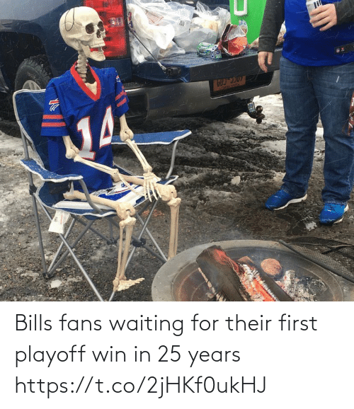 Seal: li  ATREBE SEAl  Acon Bills fans waiting for their first playoff win in 25 years https://t.co/2jHKf0ukHJ