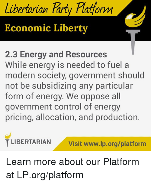 the government should stop subsidizing energy Dear earthtalk: renewable-energy production in the solar and wind markets currently receives about $7 billion in government subsidies annually, but is still not competitive against fossil fuels on.
