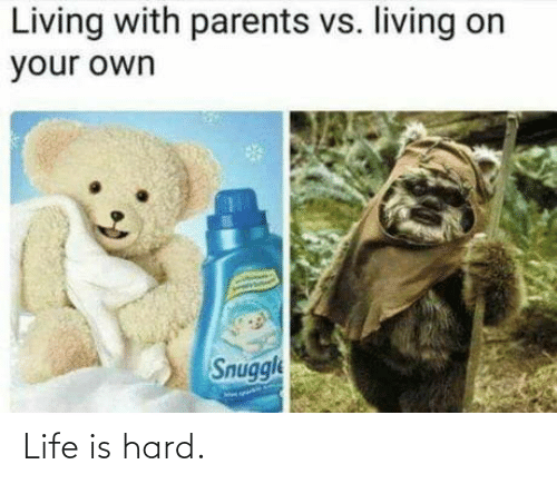 Life Is: Life is hard.
