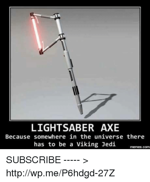 Light Saber Axe