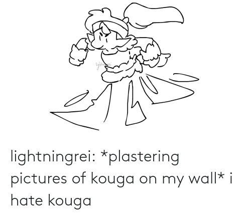 pictures of: lightningrei:  *plastering pictures of kouga on my wall* i hate kouga