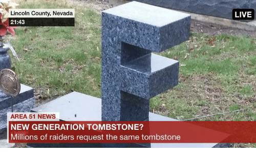 Lincoln: Lincoln County, Nevada  LIVE  21:43  AREA 51 NEWS  NEW GENERATION TOMBSTONE?  Millions of raiders request the same tombstone