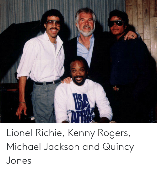 kenny: Lionel Richie, Kenny Rogers, Michael Jackson and Quincy Jones