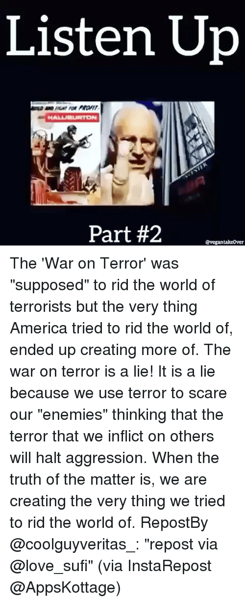 are wars of terror different from World war ii and war on terror this paper discusses how the bush administration handled the war on terror as well as different there have been many wars.