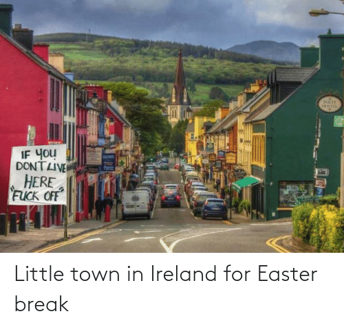 Easter: Little town in Ireland for Easter break