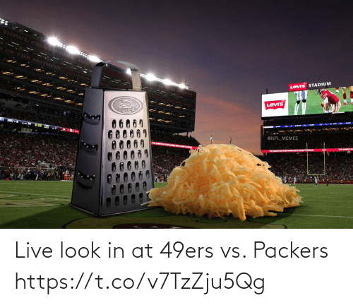 Football: Live look in at 49ers vs. Packers https://t.co/v7TzZju5Qg