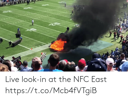 east: Live look-in at the NFC East  https://t.co/Mcb4fVTgiB