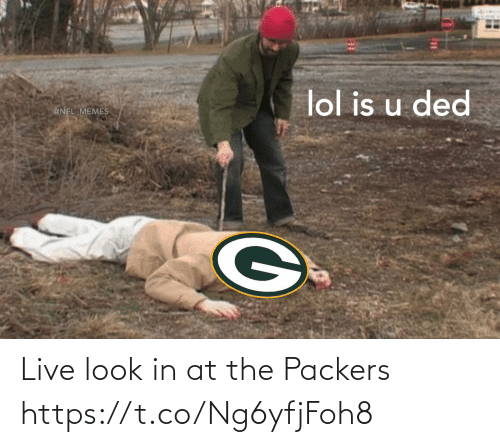 Football: Live look in at the Packers https://t.co/Ng6yfjFoh8