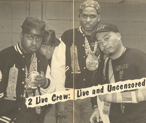 rew: LIVE  REW  2 Live Crew: Live and Uncensored  By