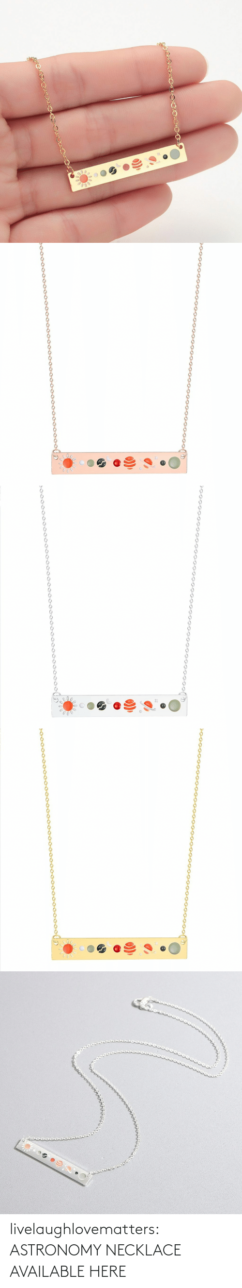 variant: livelaughlovematters:  ASTRONOMY NECKLACE AVAILABLE HERE