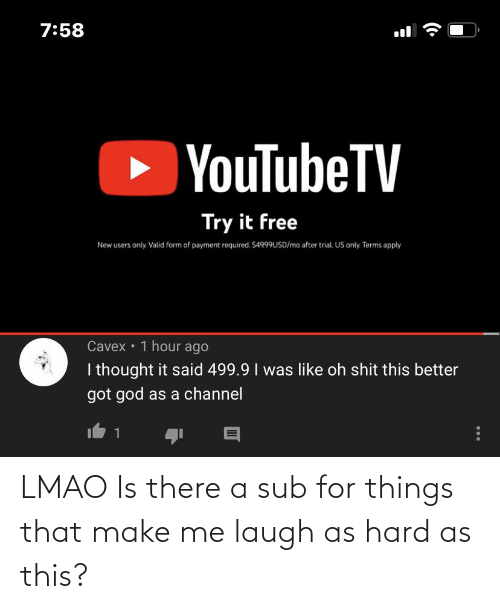 make me laugh: LMAO Is there a sub for things that make me laugh as hard as this?