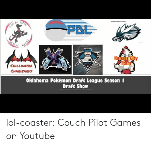 Couch: lol-coaster:  Couch Pilot Games on Youtube