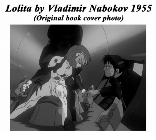 Memes, Covers, and Lolita: Lolita by Vladimir Nabokov 1955  (original book cover photo)