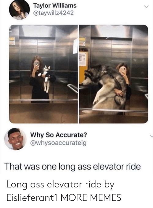 ride: Long ass elevator ride by Eislieferant1 MORE MEMES