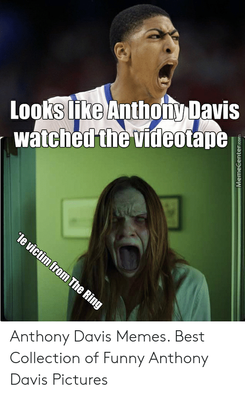 Anthony Davis Memes: LookSKG Anthonw Davis  watched the videotapt Anthony Davis Memes. Best Collection of Funny Anthony Davis Pictures