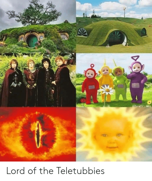 lord of the: Lord of the Teletubbies
