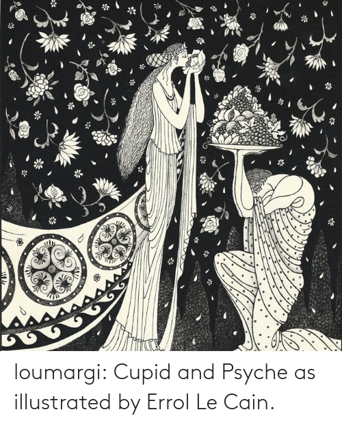 illustrated: loumargi:  Cupid and Psyche as illustrated by Errol Le Cain.
