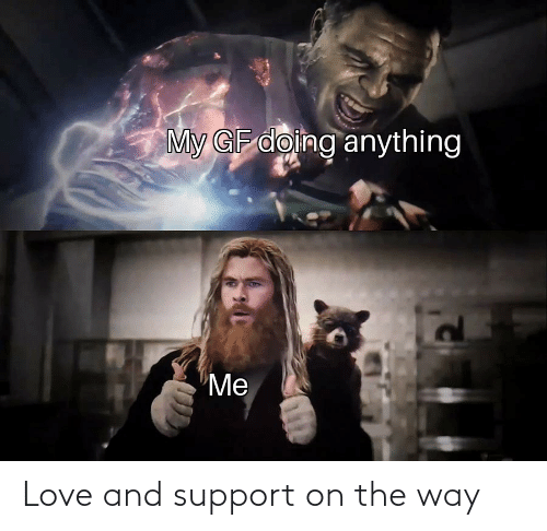 the way: Love and support on the way
