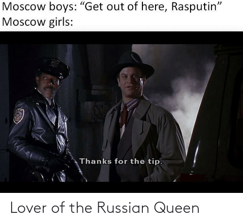 lover: Lover of the Russian Queen