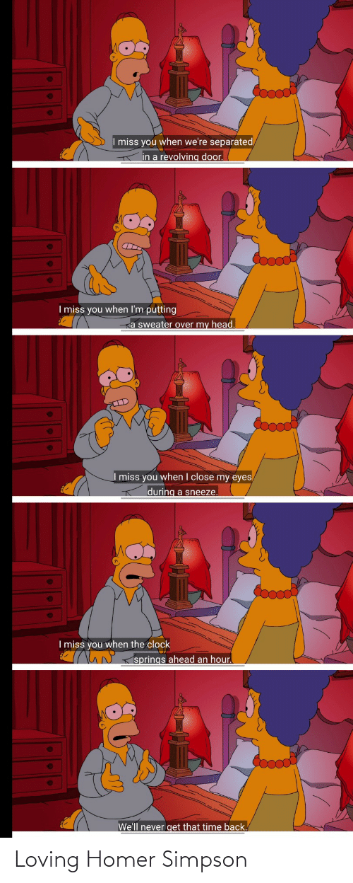 Loving: Loving Homer Simpson