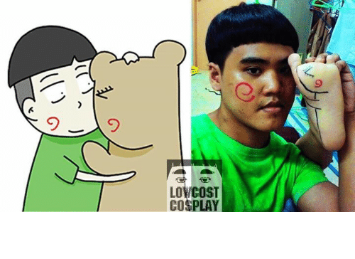 Low Cost Cosplay : Low  COST  COSPLAY คนอะไรเป็นแฟนหมี