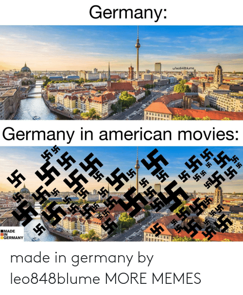 Germany: made in germany by leo848blume MORE MEMES