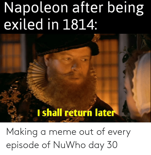 Doctor Who: Making a meme out of every episode of NuWho day 30