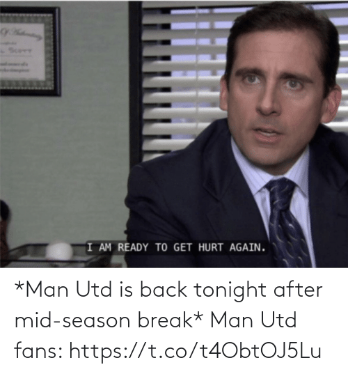 tonight: *Man Utd is back tonight after mid-season break*  Man Utd fans: https://t.co/t4ObtOJ5Lu