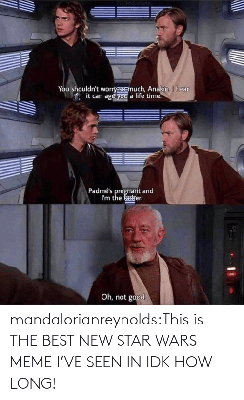 Star Wars: mandalorianreynolds:This is THE BEST NEW STAR WARS MEME I'VE SEEN IN IDK HOW LONG!
