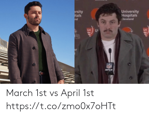 march: March 1st vs April 1st https://t.co/zmo0x7oHTt