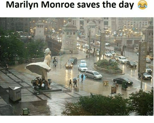 Memes, Marilyn Monroe, and 🤖: Marilyn Monroe saves the day