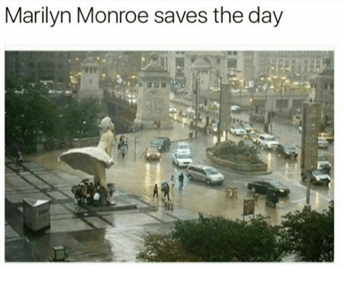 Marilyn Monroe, Day, and Monroe: Marilyn Monroe saves the day