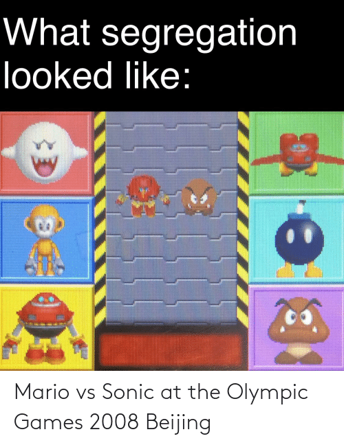 olympic: Mario vs Sonic at the Olympic Games 2008 Beijing