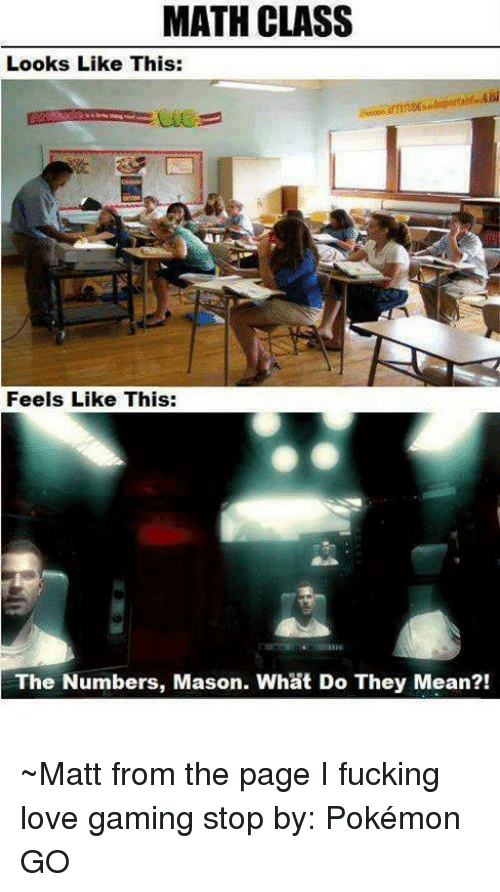 The Numbers Mason