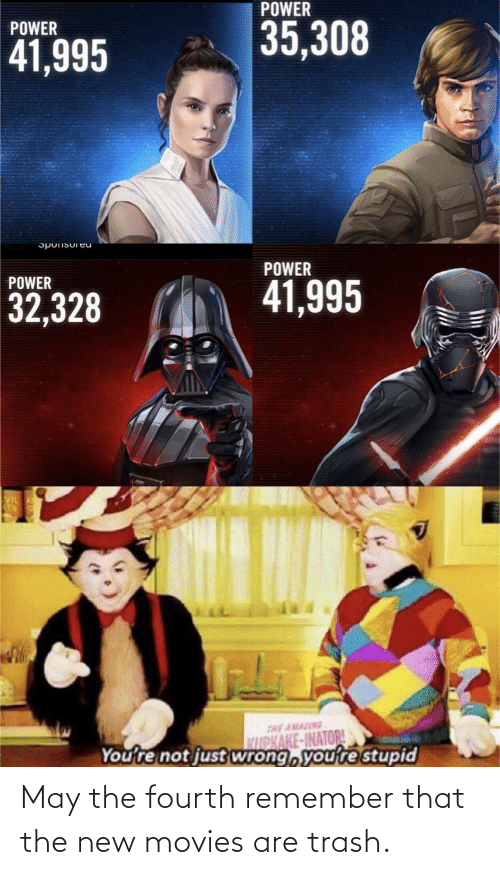 The New: May the fourth remember that the new movies are trash.