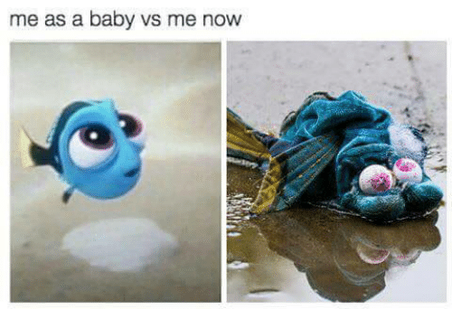 Baby, Now, and Me As: me as a baby vs me now