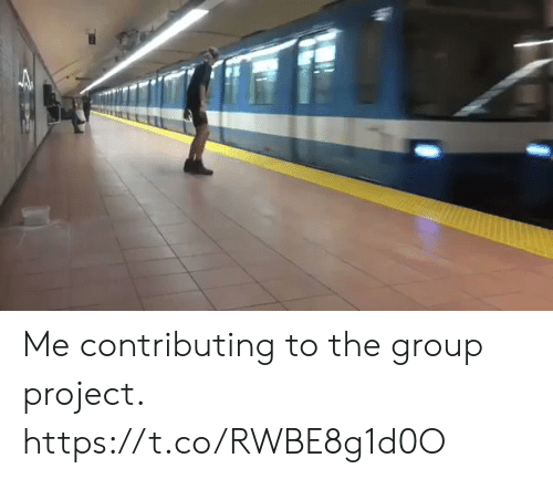 Funny, Project, and Group: Me contributing to the group project. https://t.co/RWBE8g1d0O