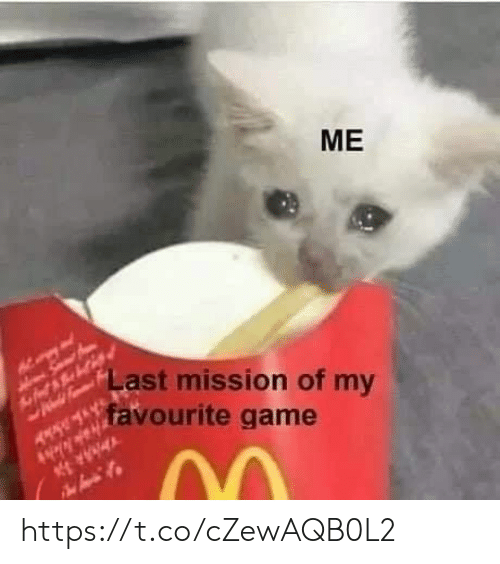 mission: ME  Last mission of my  favourite game  AR https://t.co/cZewAQB0L2