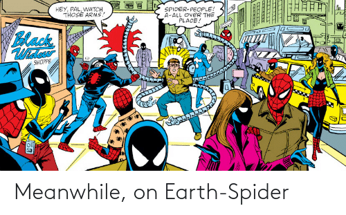 Spider: Meanwhile, on Earth-Spider
